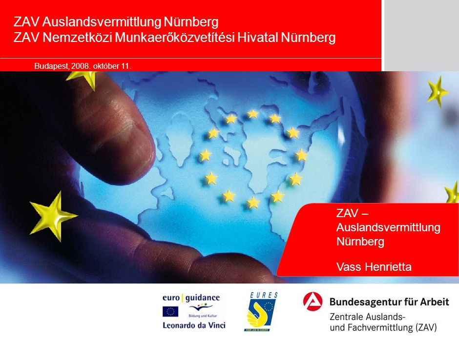 Seite International Placement Services (ZAV) of German Federal Employment Agency, 11.