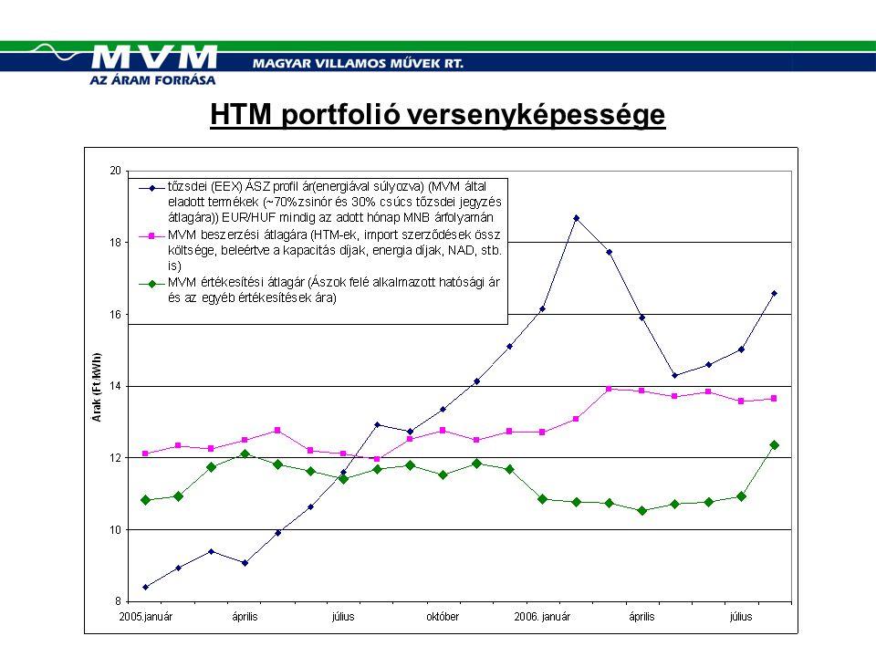 HTM portfolió versenyképessége