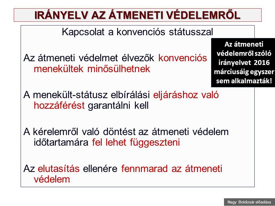 Nagy Boldizsár előadása A megállapodás Törökországgal, 2015 november 29.