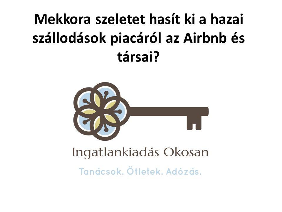 Mekkora szeletet hasít ki a hazai szállodások piacáról az Airbnb és társai