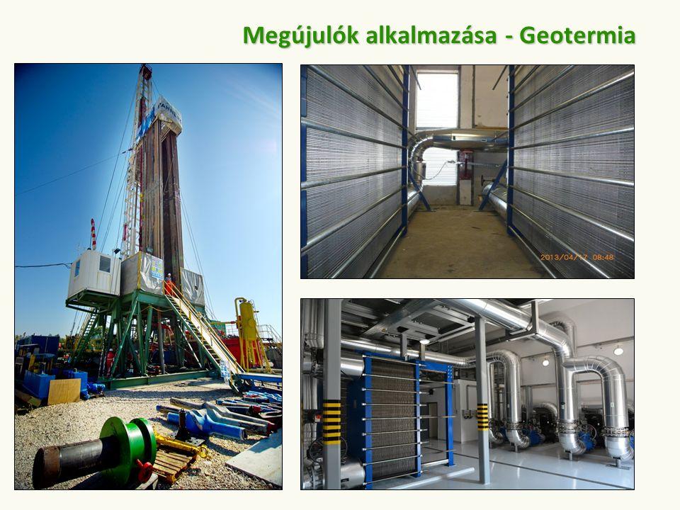 Megújulók alkalmazása - Geotermia