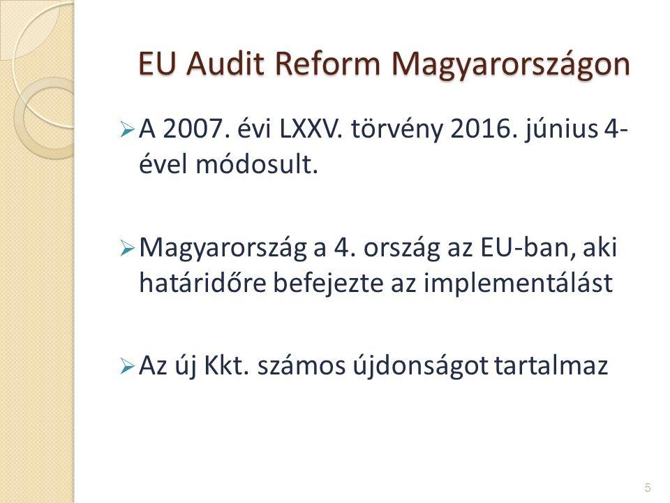 EU Audit Reform Magyarországon EU Audit Reform Magyarországon  A 2007.