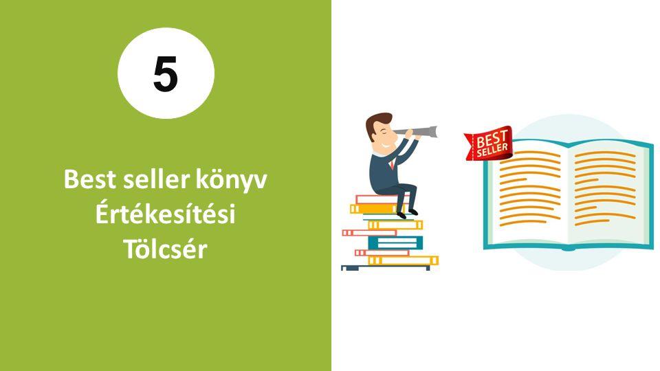 5 Best seller könyv Értékesítési Tölcsér