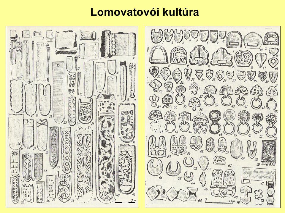 Lomovatovói kultúra: átvétel és adaptáció