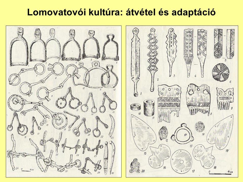 A Lomovatovói kultúra lelőhelyei a Káma felső folyása mellett találhatók.