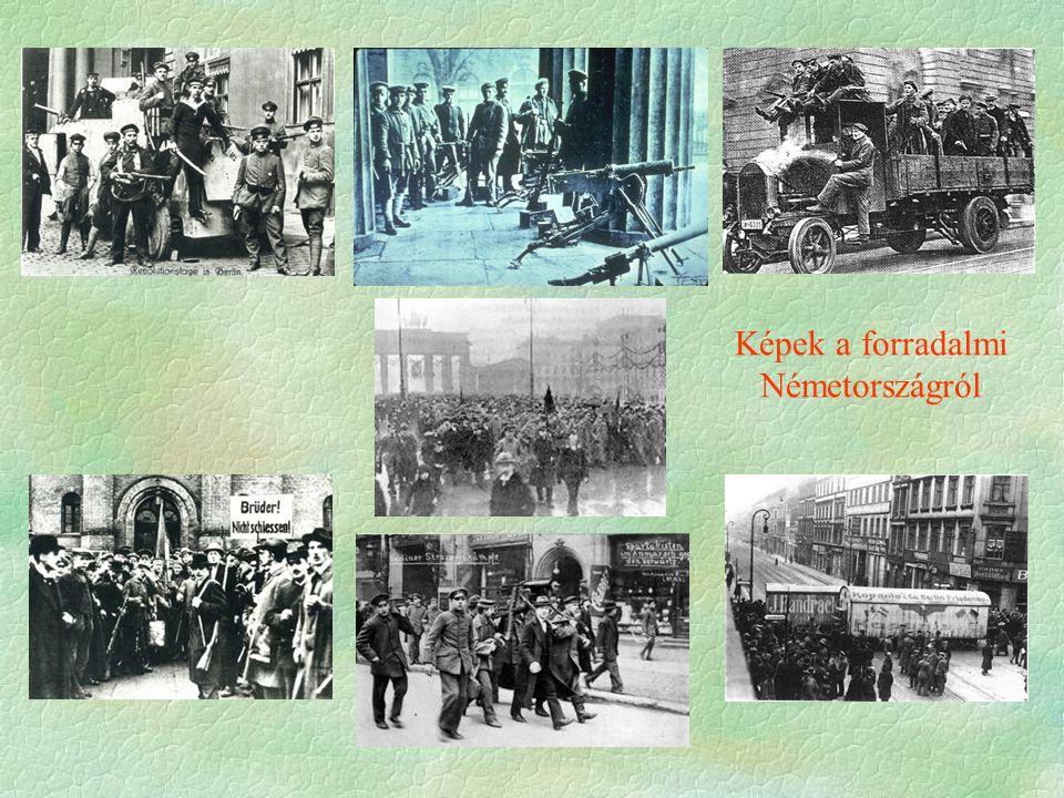 Képek a forradalmi Németországról