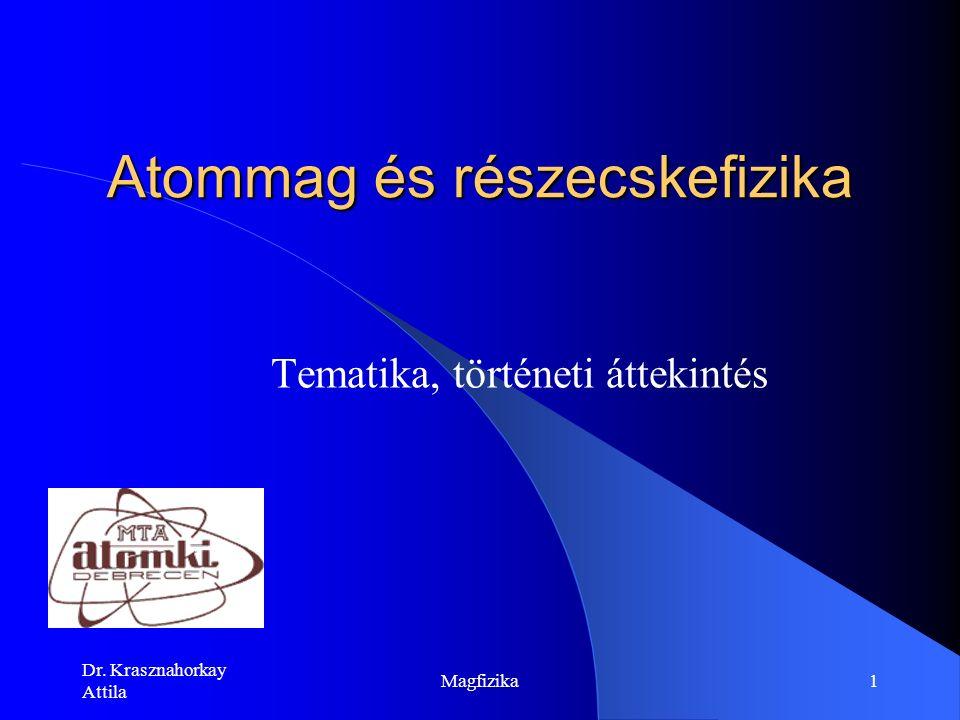 Dr. Krasznahorkay Attila Magfizika21