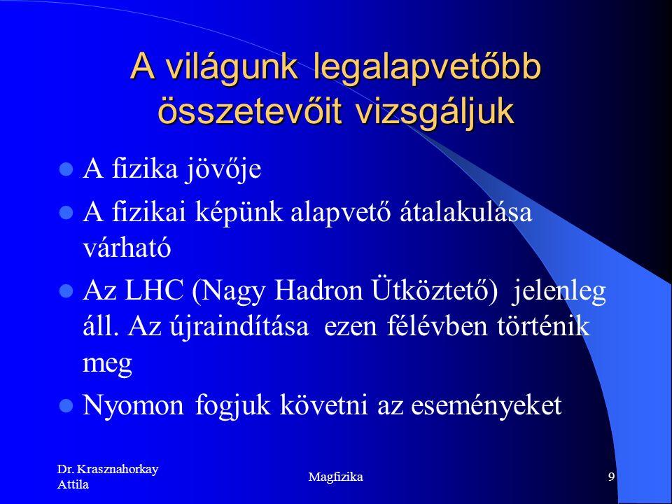 Dr. Krasznahorkay Attila Magfizika39