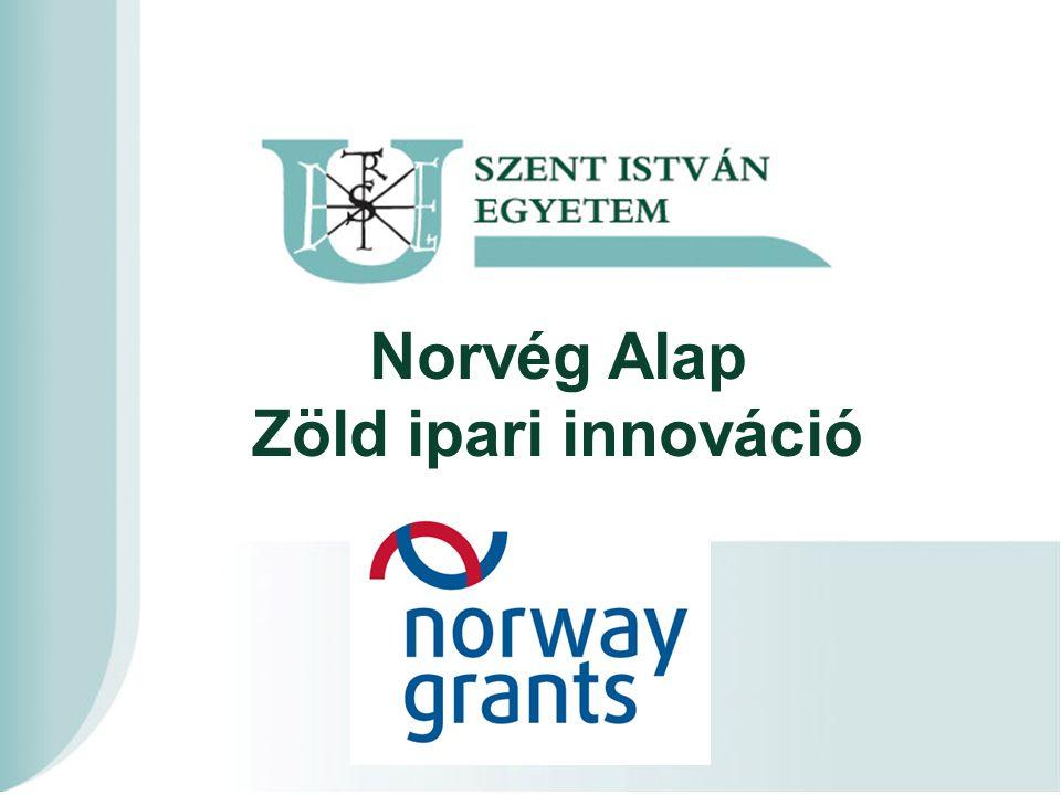 Norvég Alap Zöld ipari innováció