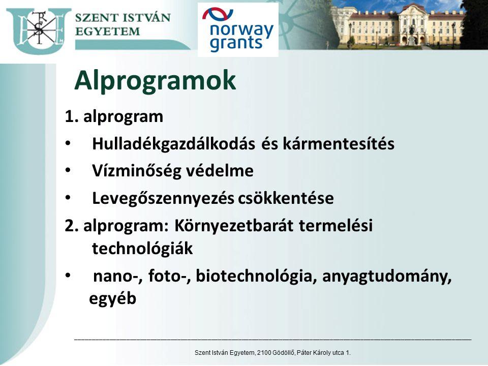 Alprogramok 1.