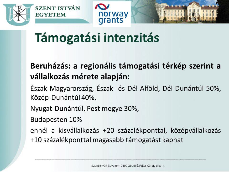 Információ Program honlapja: http://www.norvegalap.hu/zold-ipari-innovacio Részletek a két pályázati felhívásban.