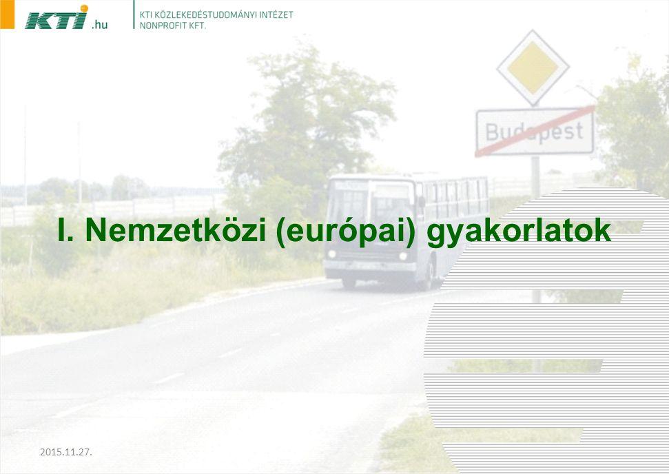I. Nemzetközi (európai) gyakorlatok 2015.11.27.