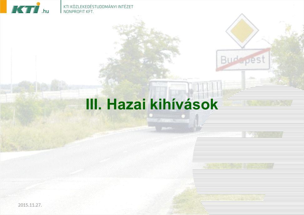 III. Hazai kihívások 2015.11.27.