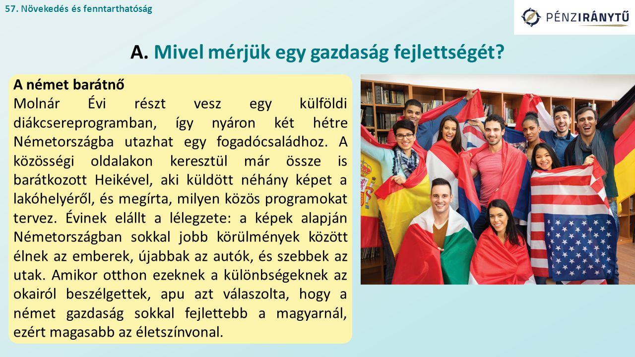 A német barátnő Molnár Évi részt vesz egy külföldi diákcsereprogramban, így nyáron két hétre Németországba utazhat egy fogadócsaládhoz.