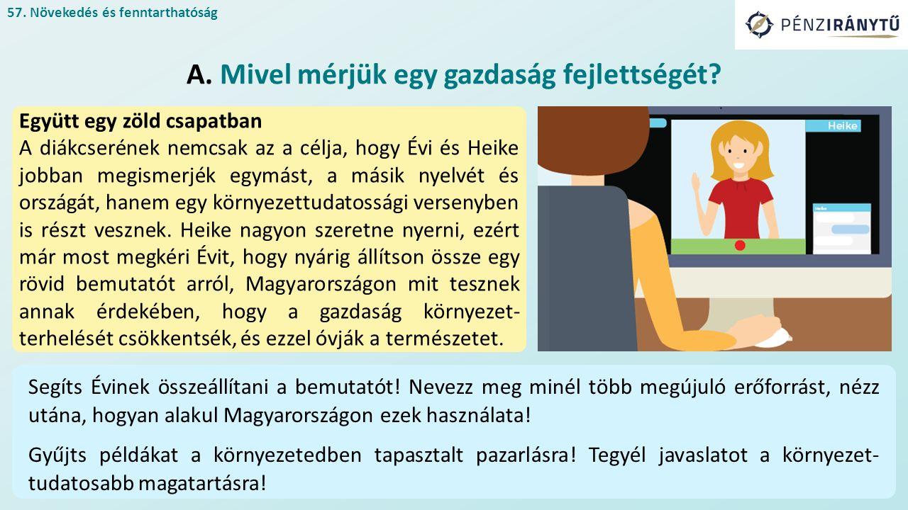 Együtt egy zöld csapatban A diákcserének nemcsak az a célja, hogy Évi és Heike jobban megismerjék egymást, a másik nyelvét és országát, hanem egy környezettudatossági versenyben is részt vesznek.