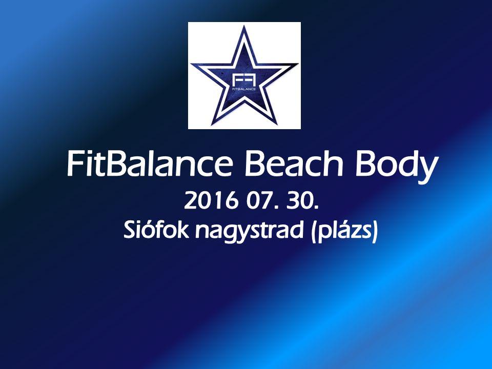 Együttműködési ajánlat A Kiállító számára : 40.000.- ft+áfa összeg befizetése esetén az alábbi megjelenési lehetőségeket tudjuk biztosítani az A Kiállító számára : 40.000.- ft+áfa összeg befizetése esetén az alábbi megjelenési lehetőségeket tudjuk biztosítani az BioTechUSA - FitBalance Beach Club– BioTechUSA - FitBalance Beach Club– 2016 július 30.