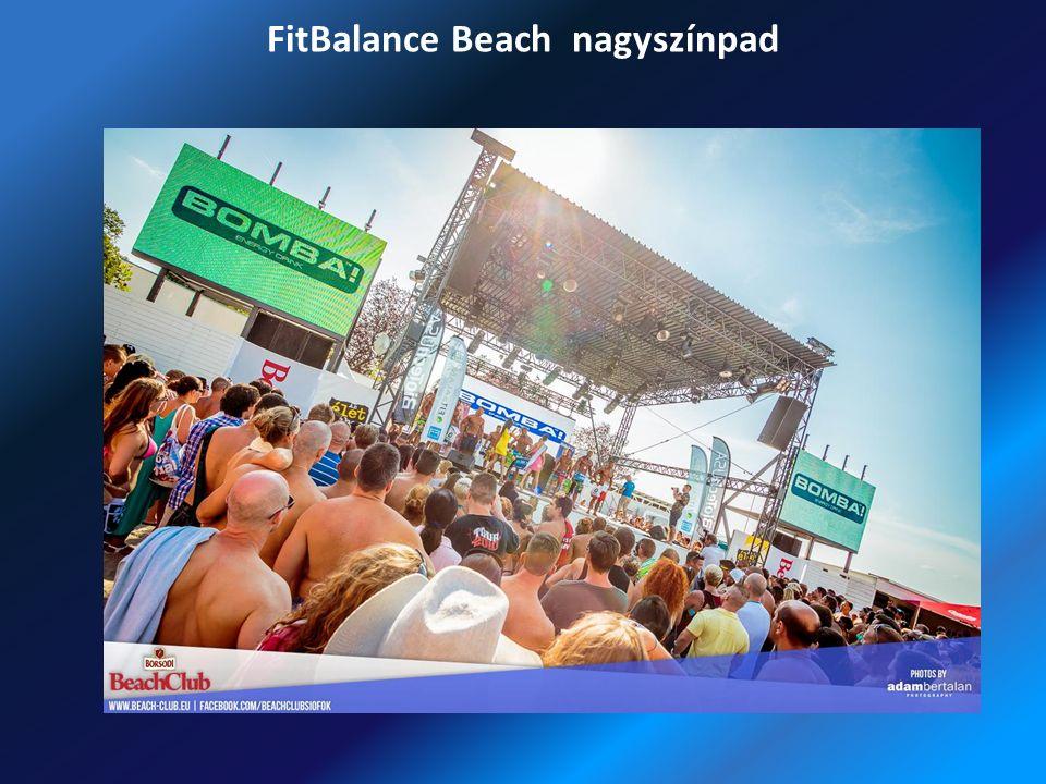 FitBalance Beach nagyszínpad
