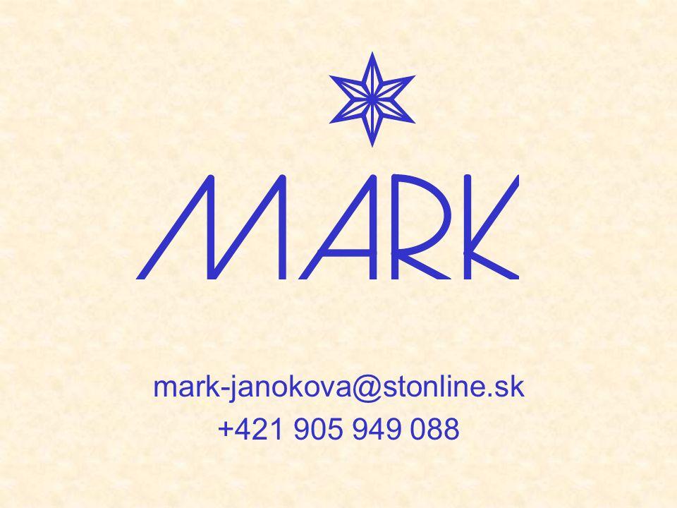 mark-janokova@stonline.sk +421 905 949 088
