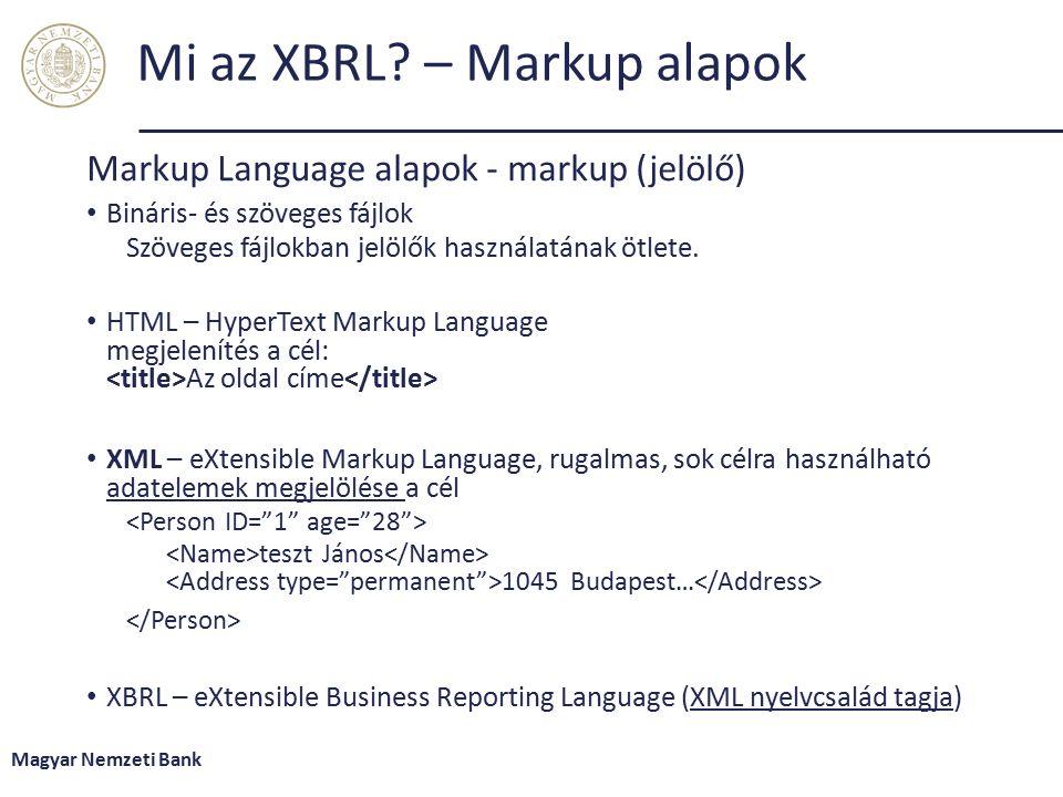 Mi az XBRL.