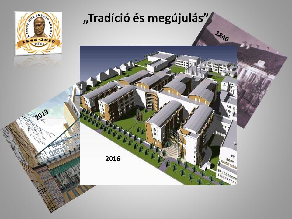 """""""Tradíció és megújulás 2013 1846 2016"""