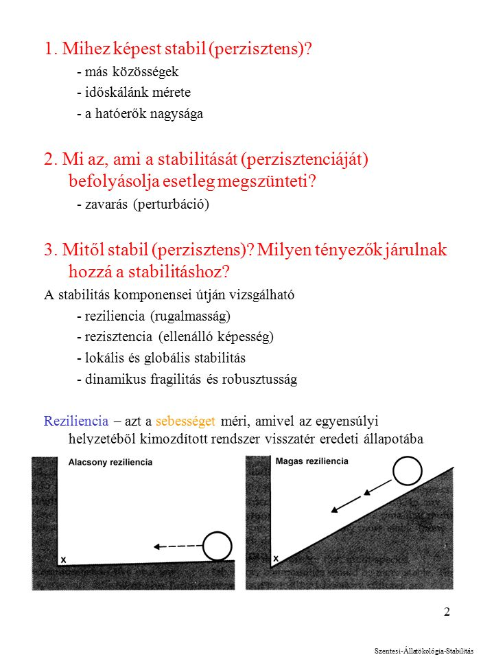 2 1. Mihez képest stabil (perzisztens).