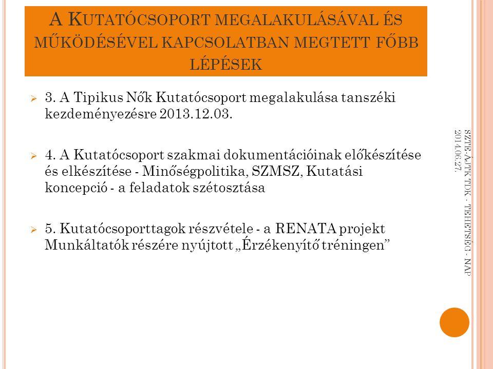 Van bármilyen kérdés az elhangzottakkal kapcsolatban? SZTE-ÁJTK TDK - TEHETSÉG - NAP 2014.06.27.