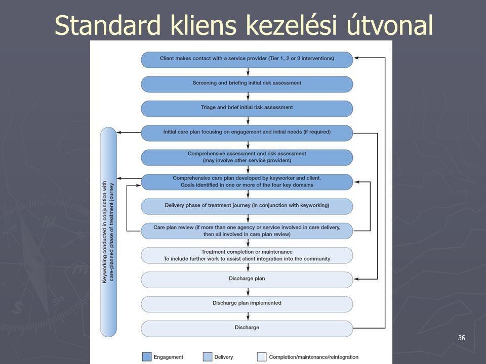 Topolánszky Ákos36 Standard kliens kezelési útvonal