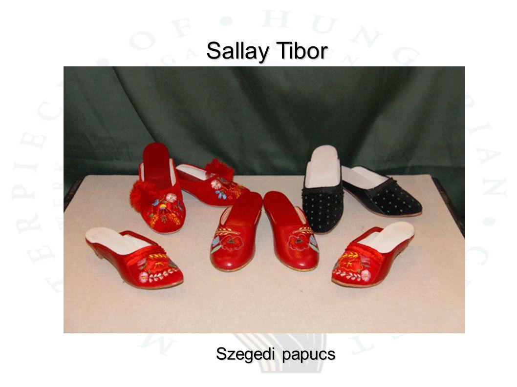 Sallay Tibor Szegedi papucs