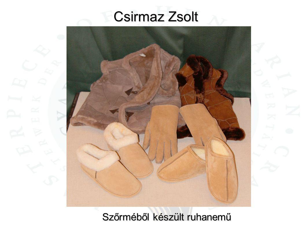 Csirmaz Zsolt Szőrméből készült ruhanemű