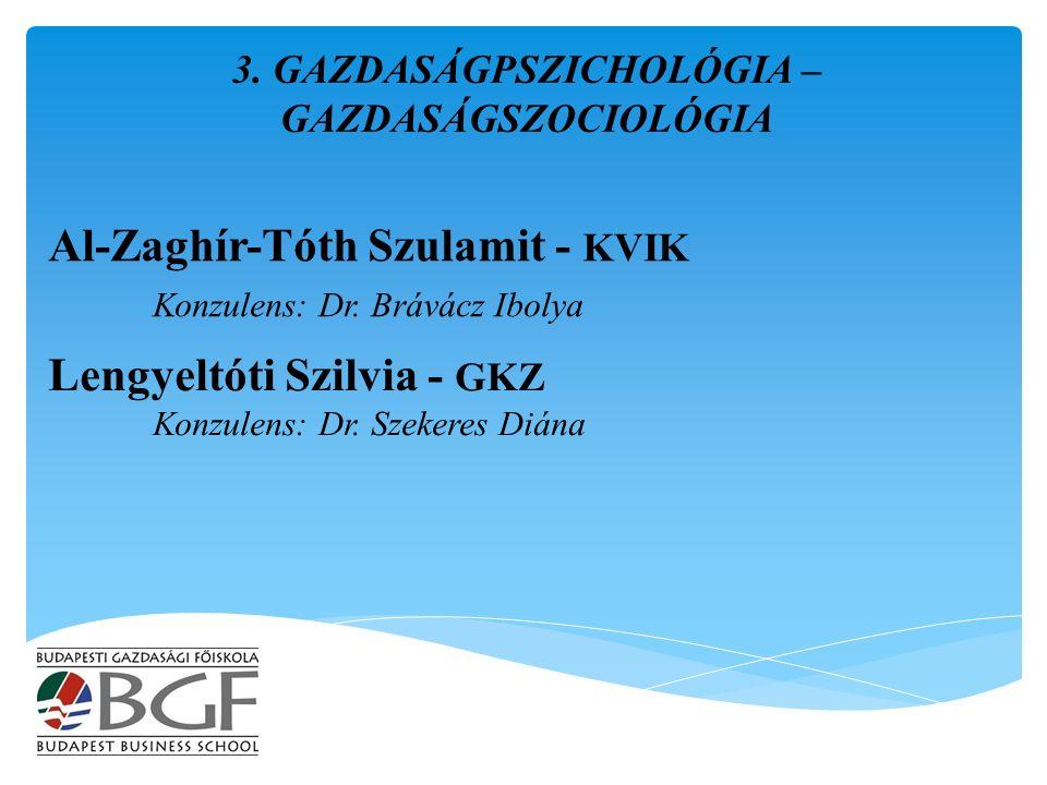 Al-Zaghír-Tóth Szulamit - KVIK Konzulens: Dr. Brávácz Ibolya 3.
