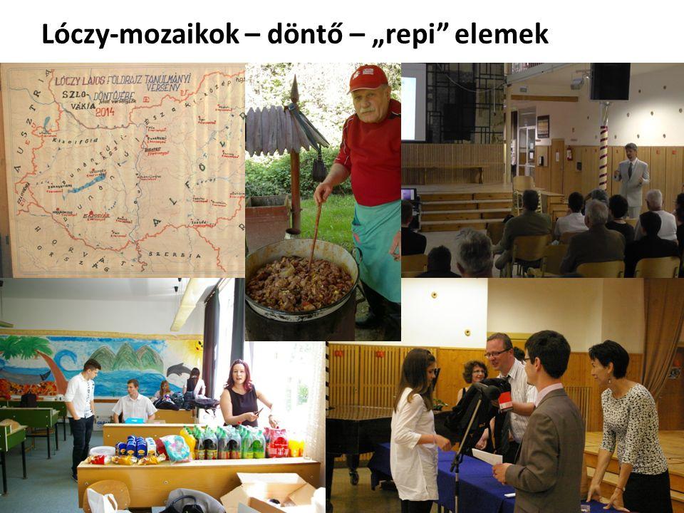 """Lóczy-mozaikok – döntő – """"repi elemek"""