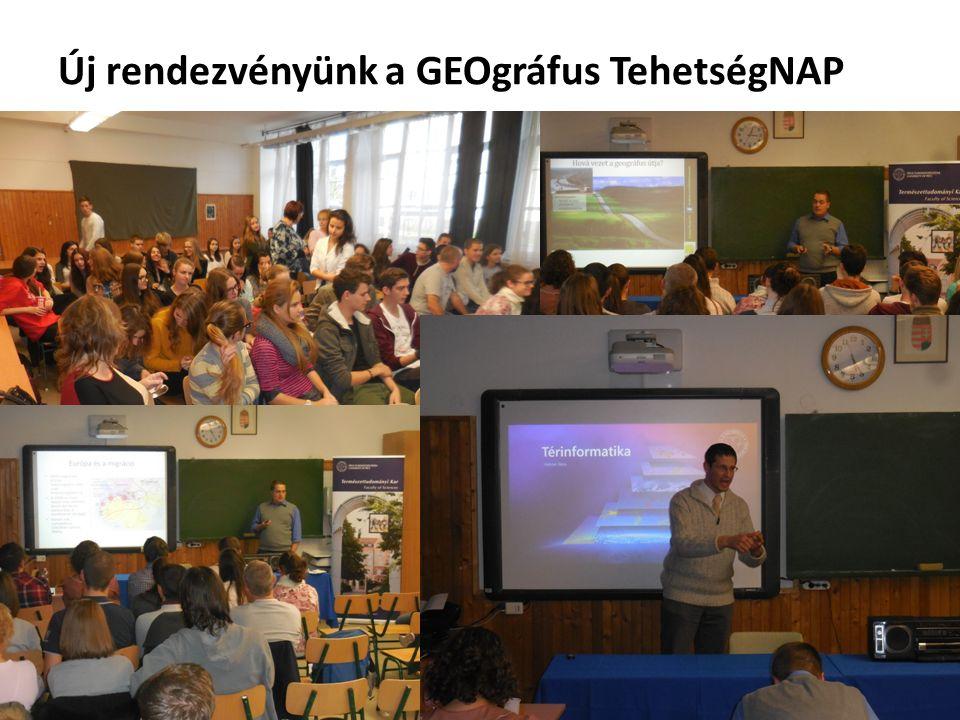 Új rendezvényünk a GEOgráfus TehetségNAP