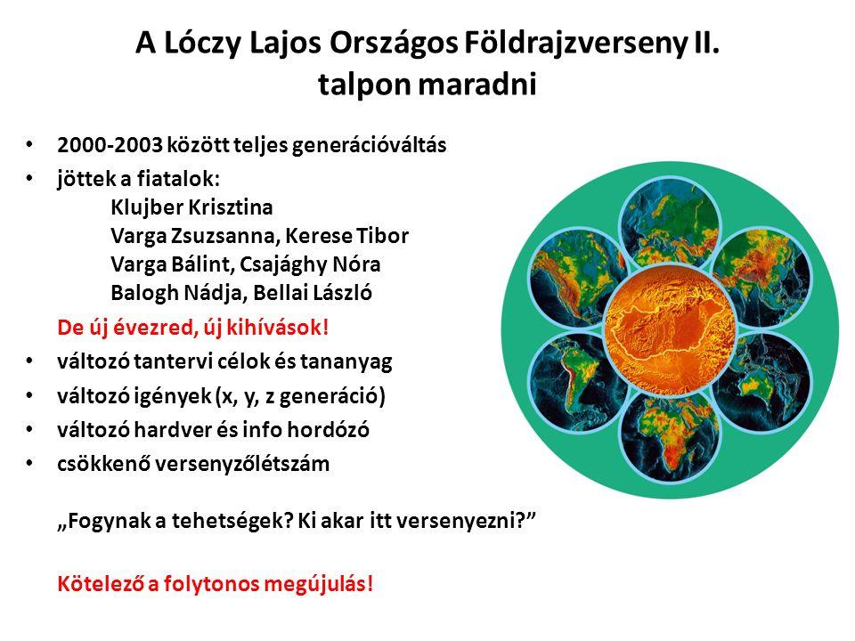 A Lóczy Lajos Országos Földrajzverseny III.