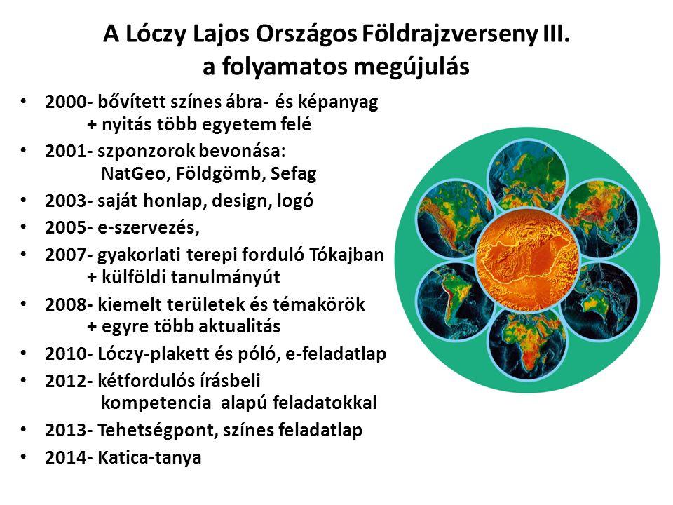 Saját tehetségeink… Lóczy-verseny 1.2. … hely Angol nyelvű földrajzverseny 1.