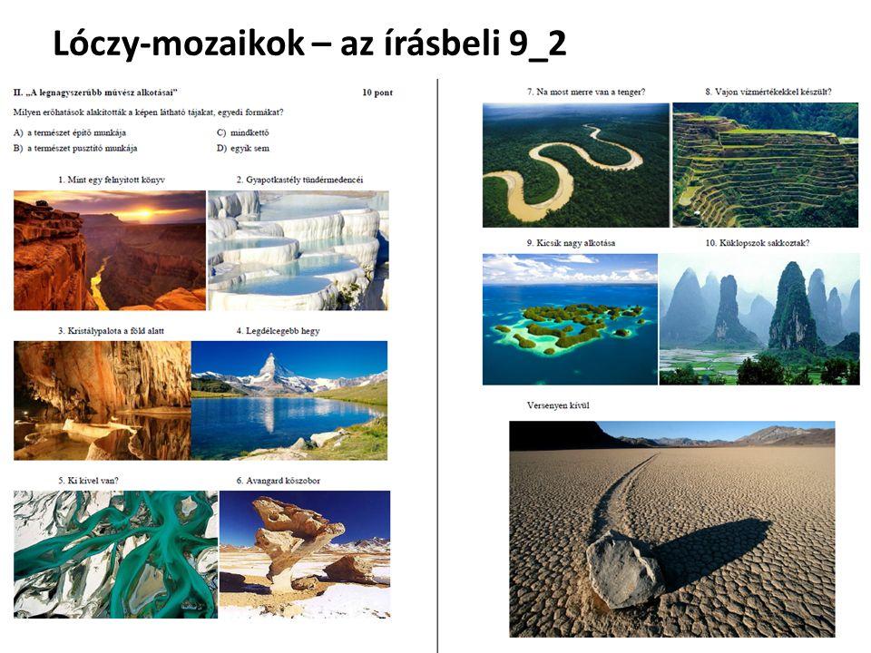 Lóczy-mozaikok – az írásbeli 9_2