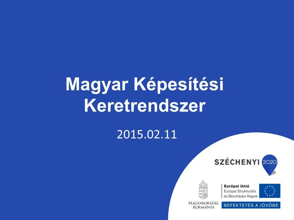 Magyar Képesítési Keretrendszer 2015.02.11