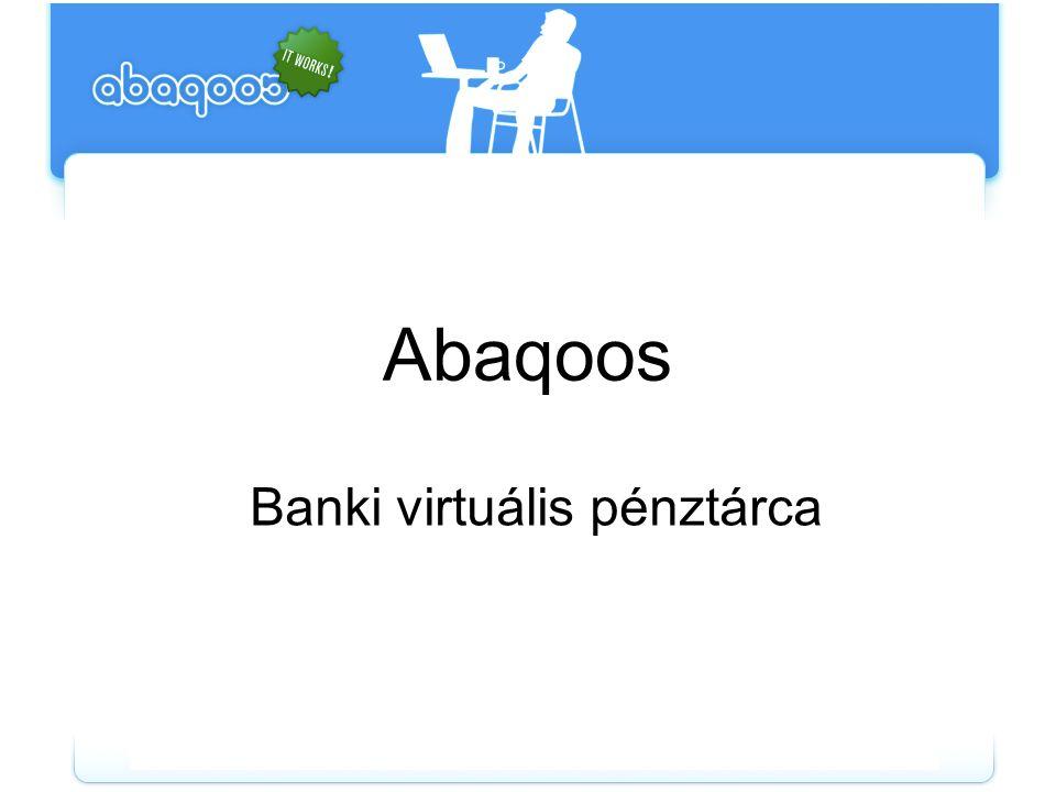 Abaqoos Banki virtuális pénztárca
