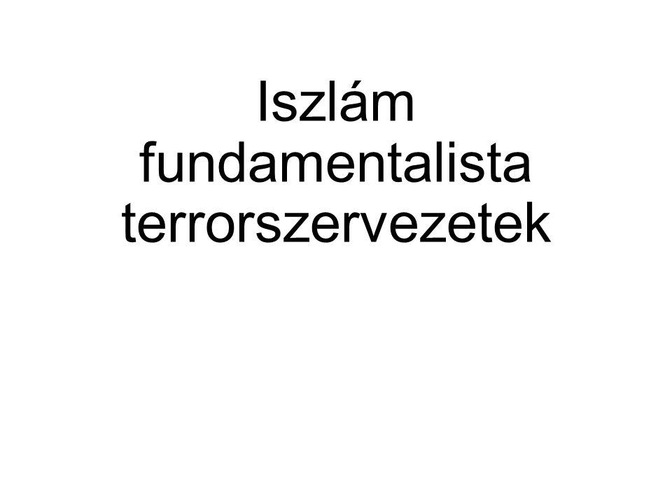Iszlám fundamentalista terrorszervezetek