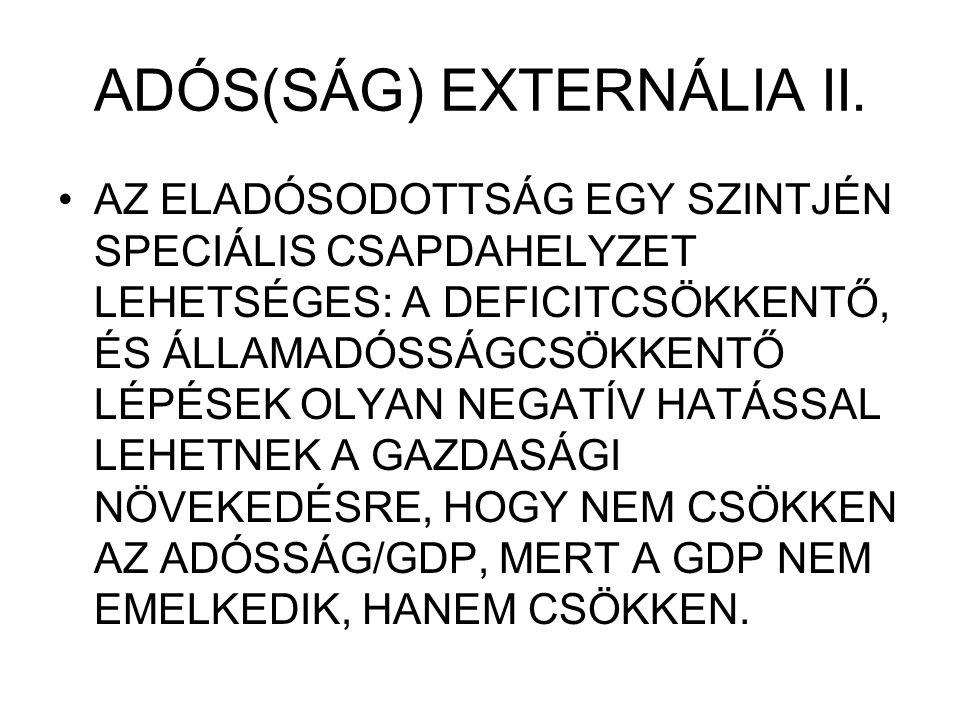 ADÓS(SÁG) EXTERNÁLIA II.