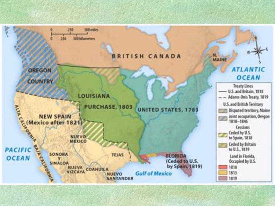  XIX.sz első fele  további előretörés nyugat felé  vásárlás, pol.