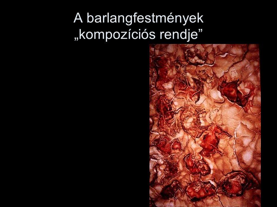 """A barlangfestmények """"kompozíciós rendje"""