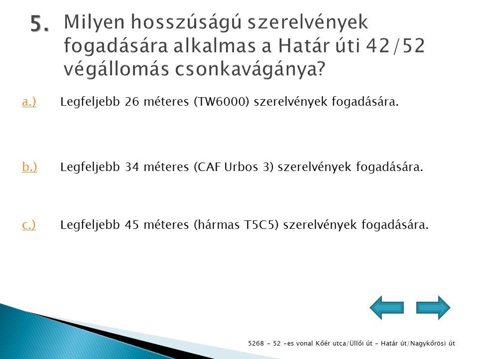 5268 - 52 -es vonal Kőér utca/Üllői út - Határ út/Nagykőrösi út 5.