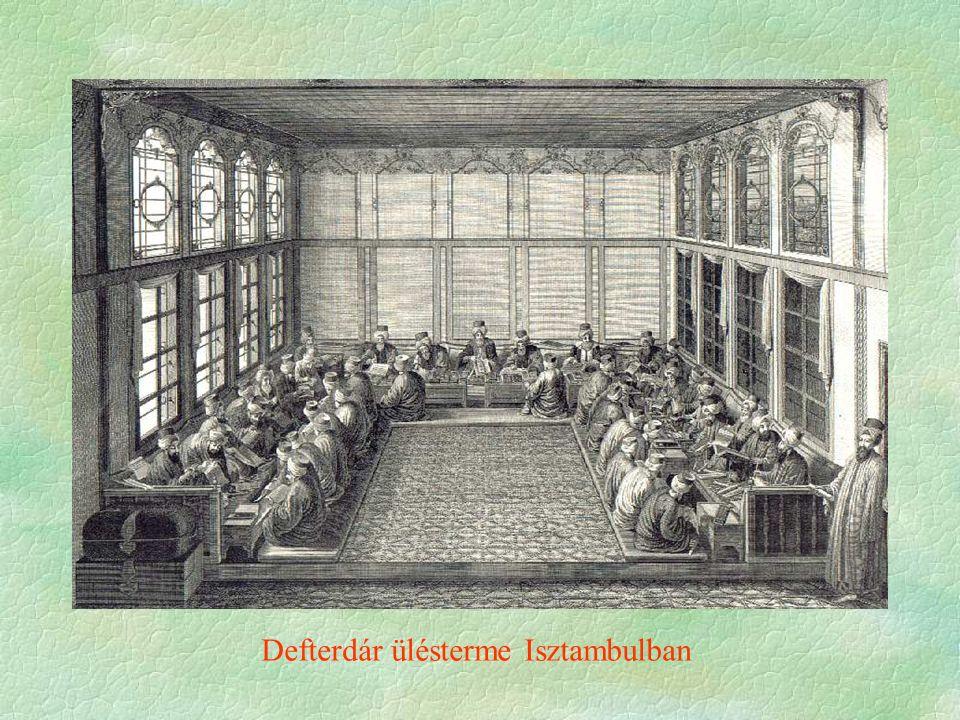 Defterdár ülésterme Isztambulban