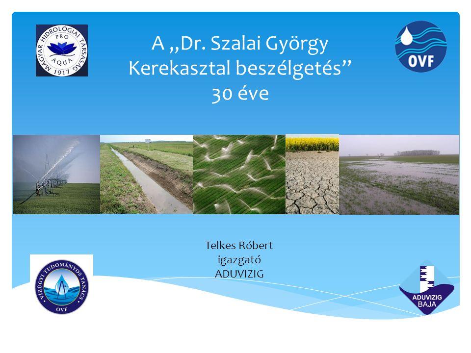 Üzemi meliorációs létesítmények üzeme és karbantartása, kettős hasznosítású drének fenntartása, melioráció és környezet Vízgazdálkodási létesítmények üzemeltetési kérdései, mechanikai, biológiai, kémiai fenntartása(1987, 1988, 1991, 2002, 2008) Síkvidéki vízrendezés mutatórendszerei, vízkormányzási feladatok a síkvidéki vízrendezésben (1995, 2013) Kerekasztal témái a 30 év alatt A Dr.