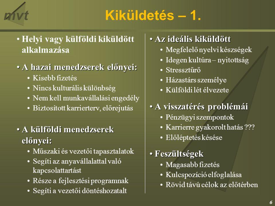 mvtEEM Horvátországban Toborzás, kiválasztásToborzás, kiválasztás Bejelentés.