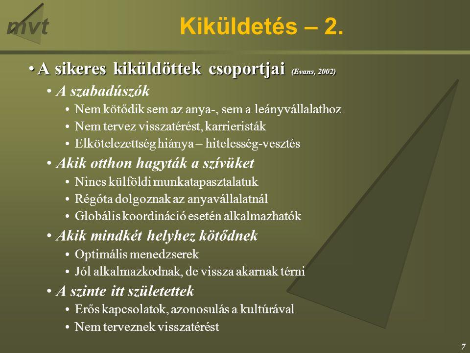 mvtKiküldetés – 2.