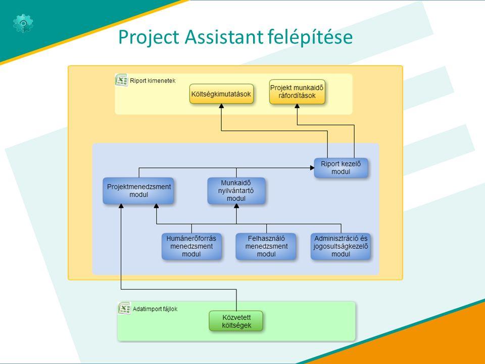 Project Assistant felépítése