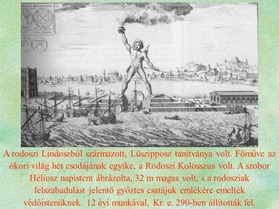 A rodoszi Lindoszból származott, Lüszipposz tanítványa volt.