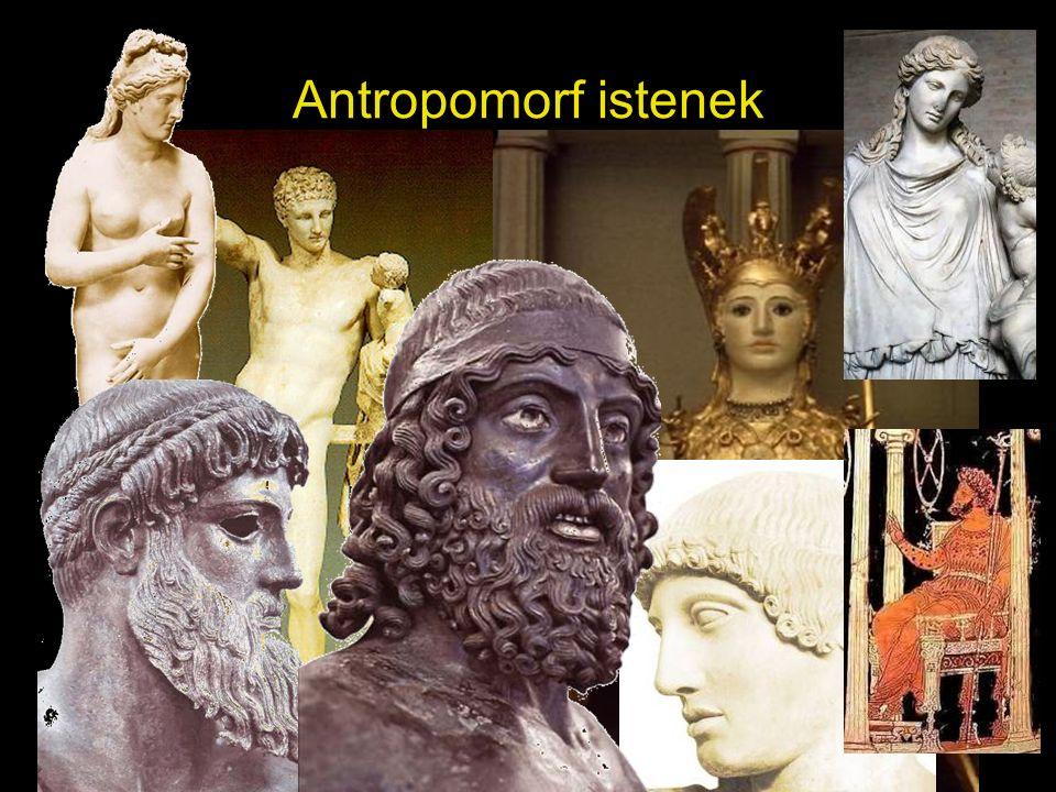Antropomorf istenek