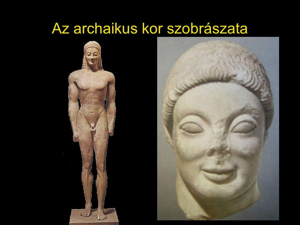 Az archaikus kor szobrászata